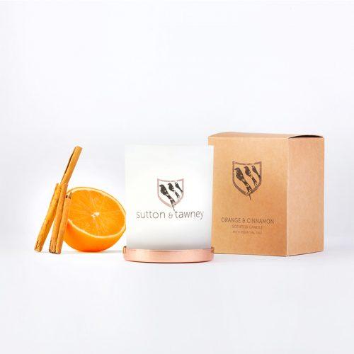 suttonandtawney - orange and cinnamon candles online