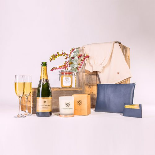 blue luxury gift hampers